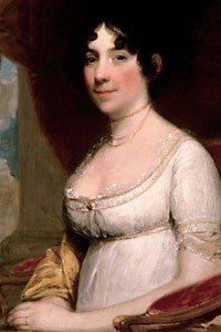 Gilbert Stuart Portrait of Dolly Madison