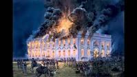 President's House Burning, 1814