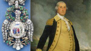 Washington's  Diamond Eagle Badge-Society of the Cincinnati